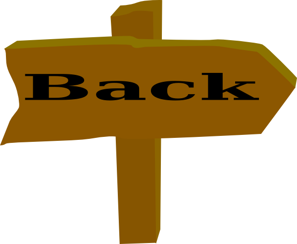 clipart freeuse library Back clip art at. Go clipart png