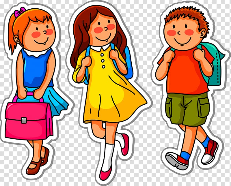 banner black and white stock School child children to. Go clipart png