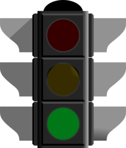 vector transparent On green clip art. Go clipart traffic
