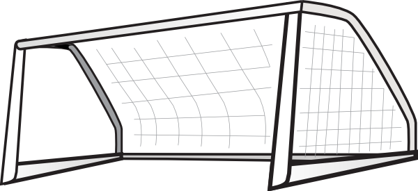 banner black and white Clip art at clker. Goal clipart