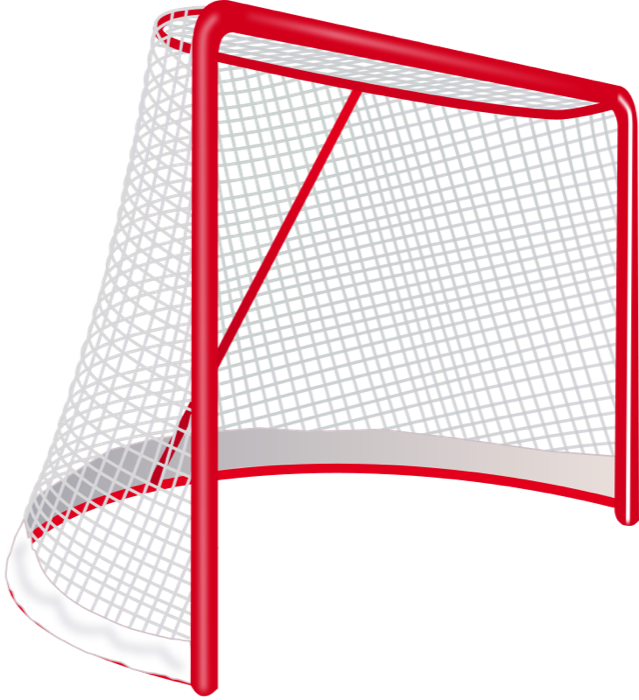 svg freeuse download Hockey and animations goalie. Goal clipart animated