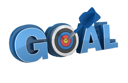 royalty free Goal clipart goal setting. Four p s of