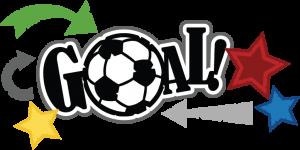 download Goal clipart indoor soccer. Svg scrapbook title file
