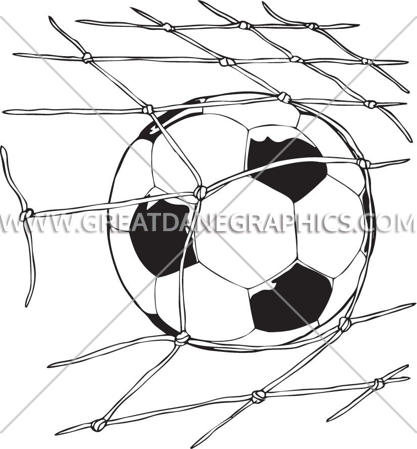 clip art freeuse Football Goal Drawing at GetDrawings