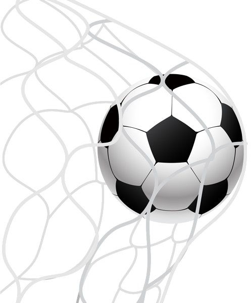 image freeuse Goal clipart soccer ball goal. In a net png