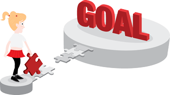 clipart black and white stock Goals clipart aims. Goal setting our processes
