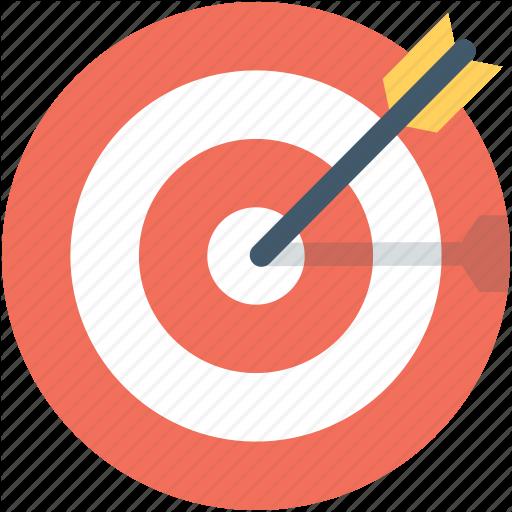 transparent download Crosshair dartboard goal target. Goals clipart bullseye