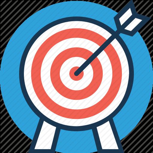 png transparent library Dart board goal target. Goals clipart bullseye