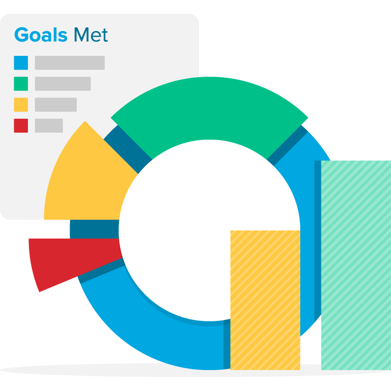banner free Outcomes webpt meet. Goals clipart progress