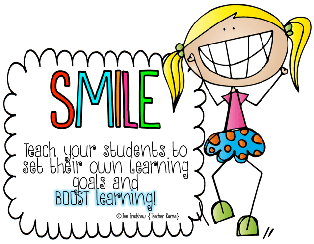 graphic transparent Teach your students to. Goals clipart progress