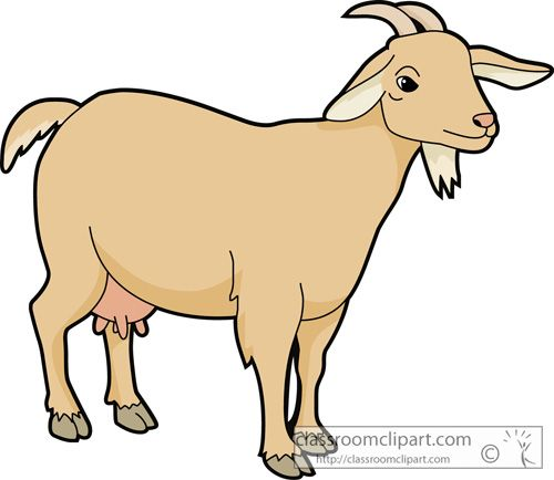 picture black and white library To download clipartcow art. Goat clipart
