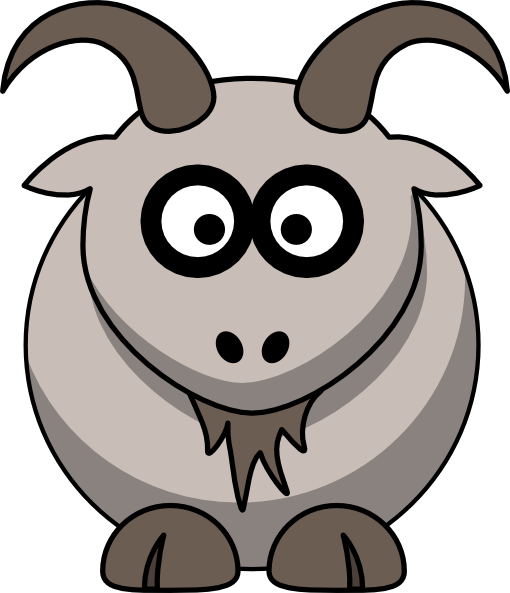 jpg library stock Goat clipart eyes. Cabra free on dumielauxepices