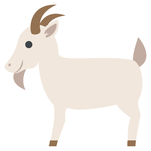 black and white download Emoji free on dumielauxepices. Goat clipart family