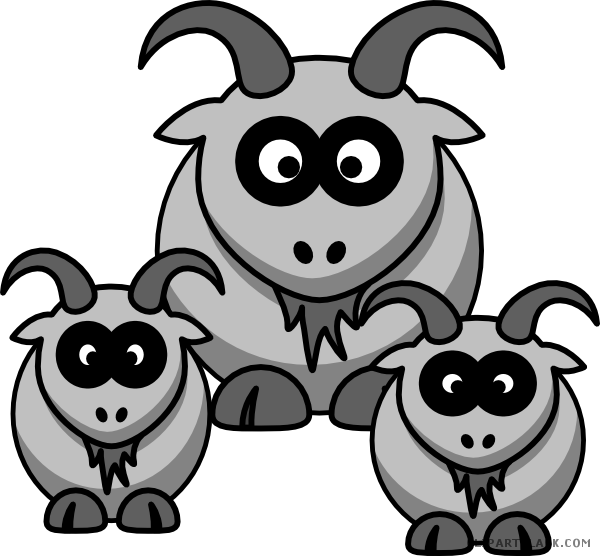 graphic download Goat clipart gray. Page of clipartblack com