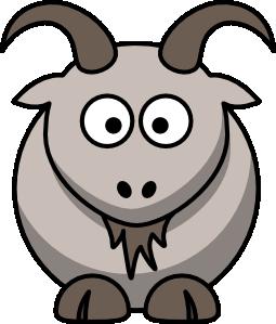 png transparent library Cartoon clip art at. Goat clipart toon