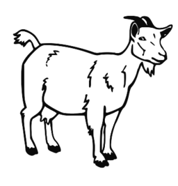 png stock Goat clipart toon. House free on dumielauxepices