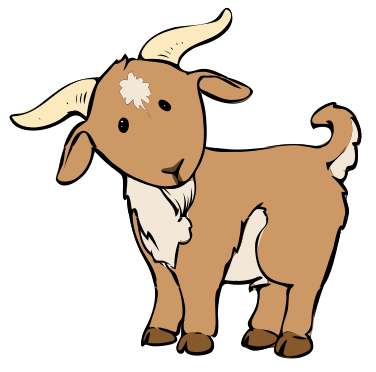 png free Cartoon baby description svg. Goat clipart toon