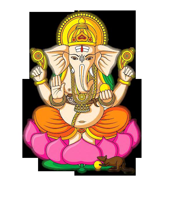 jpg library God clipart ganesha. Hindu five png