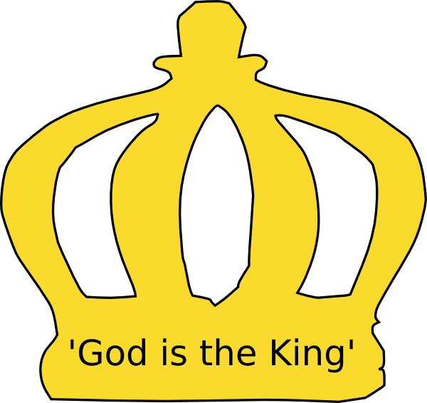 svg black and white library God clipart kingdom god. Crown clip art at