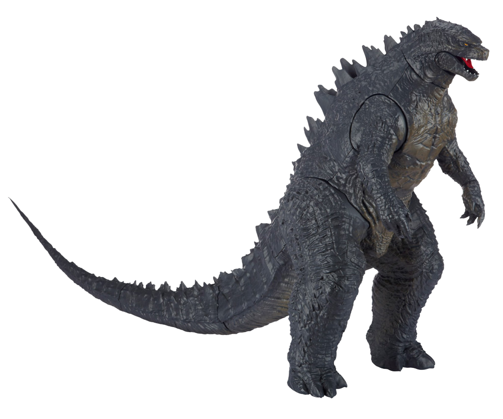 png black and white download Godzilla Transparent Background