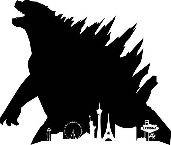 clipart transparent download Godzilla vector.  clipart clipartlook