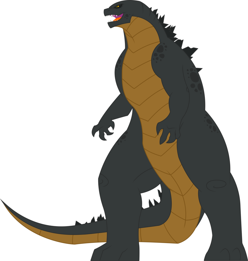 graphic stock By shootingstarajm on deviantart. Godzilla vector