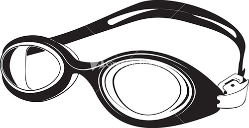 vector transparent stock Free swim cliparts download. Goggles clipart