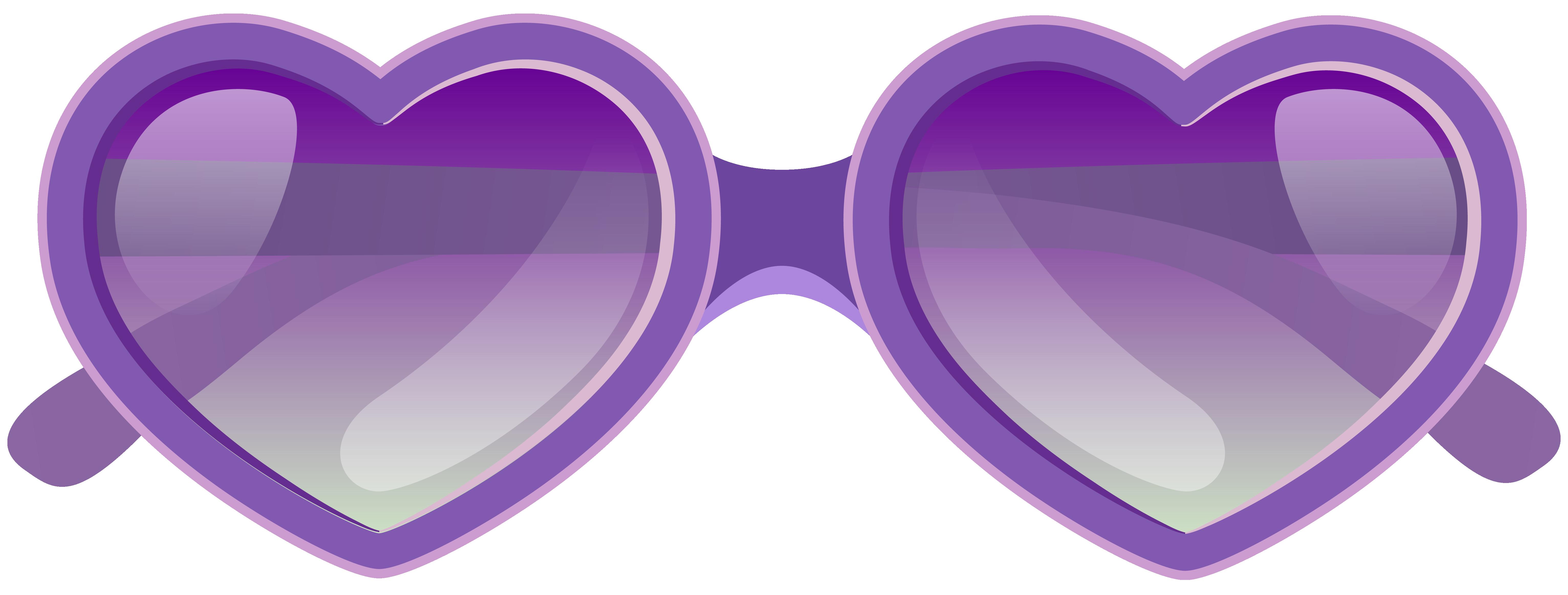 clip art free Goggles clipart beach. Purple heart sunglasses png