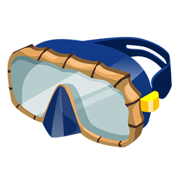 png stock Goggles clipart diving goggles. Dive paradise bay wikia