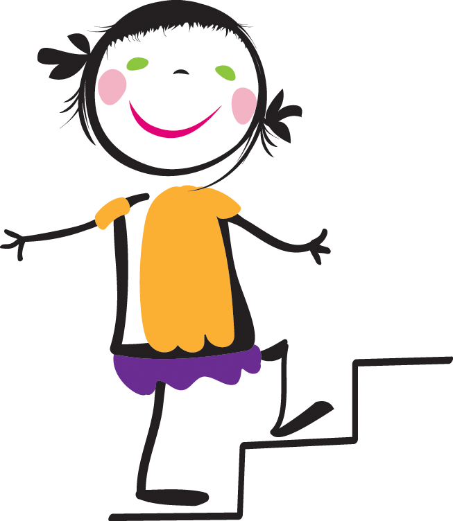 svg stock Go Back Gallery For Kids Walking Up Stairs Clipart