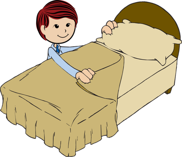 vector  go clipartlook. Going to clipart bed