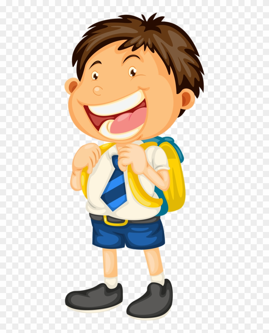 graphic free stock Boy school pinclipart . Going to clipart cartoon