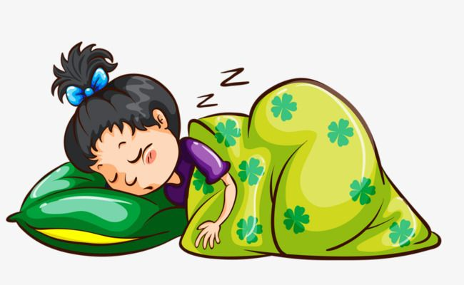 jpg library Going to clipart cartoon. Sleeping child go bed