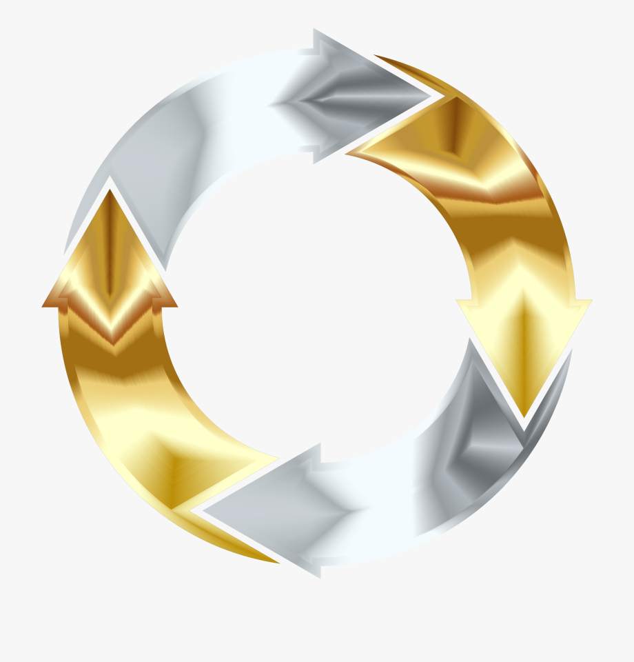 royalty free library Gold and silver clipart. Png