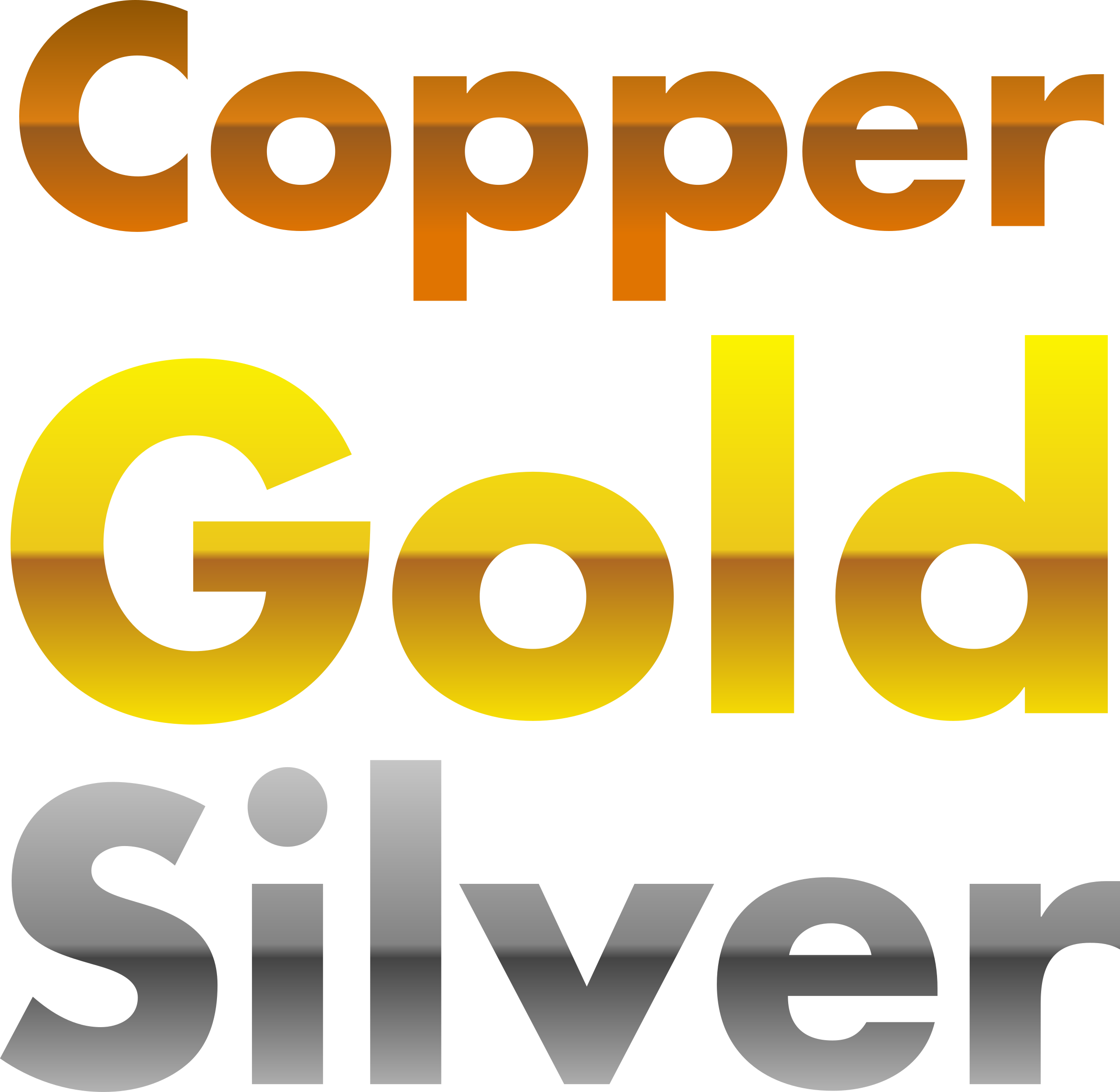 image black and white download Copper gradients big image. Gold and silver clipart