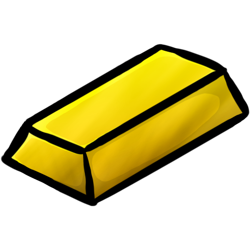 graphic stock Gold Bar Clipart minecraft gold ingot icon png clipart image iconbug