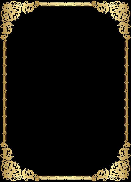 vector free Gold clipart boarder. Border frame transparent clip