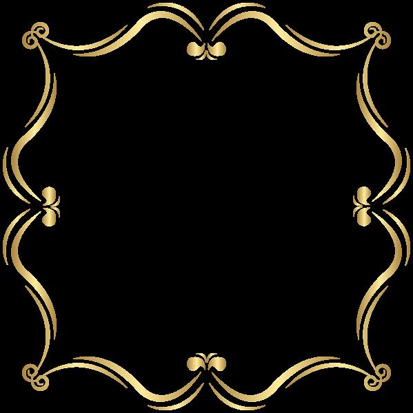 clip art stock Gold clipart boarder. Border png clip art