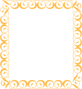 freeuse library Gold clipart fancy.  collection of border