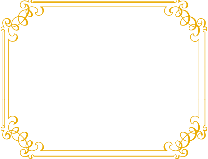 clip royalty free library Png borders transparent images. Gold clipart fancy