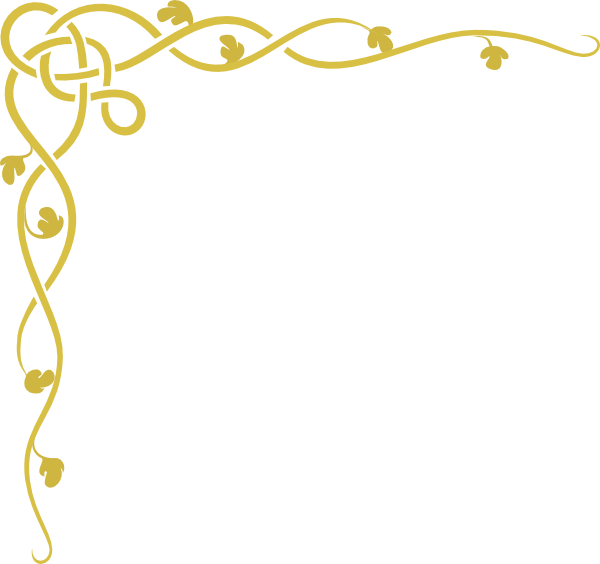 picture freeuse download Scroll . Gold clipart fancy