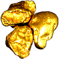 vector Nuggets png image . Gold clipart pure gold