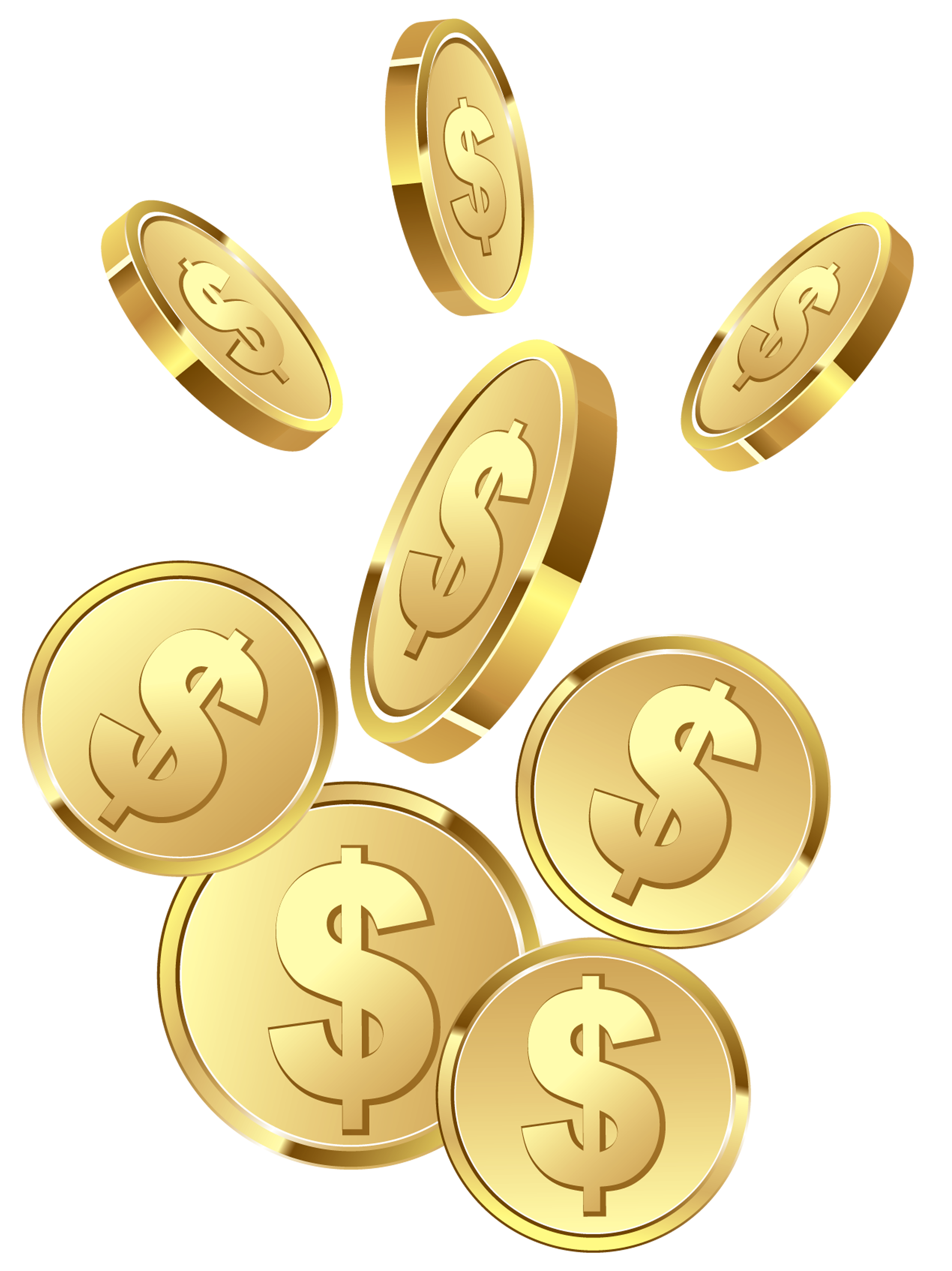 image freeuse download Gold clipart pure gold. Coins png image purepng
