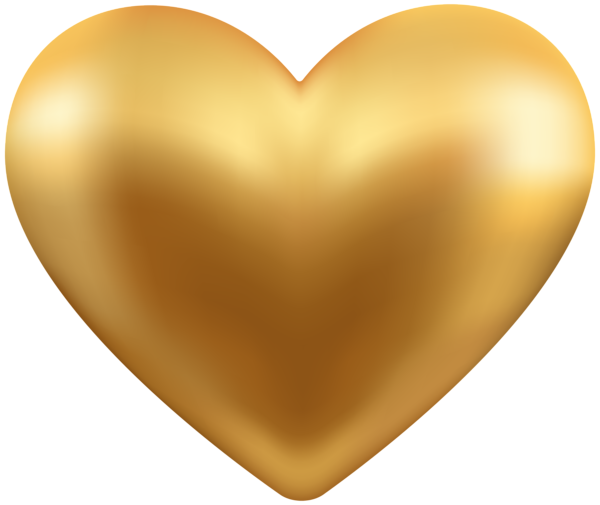graphic freeuse library Heart transparent png clip. Gold clipart pure gold