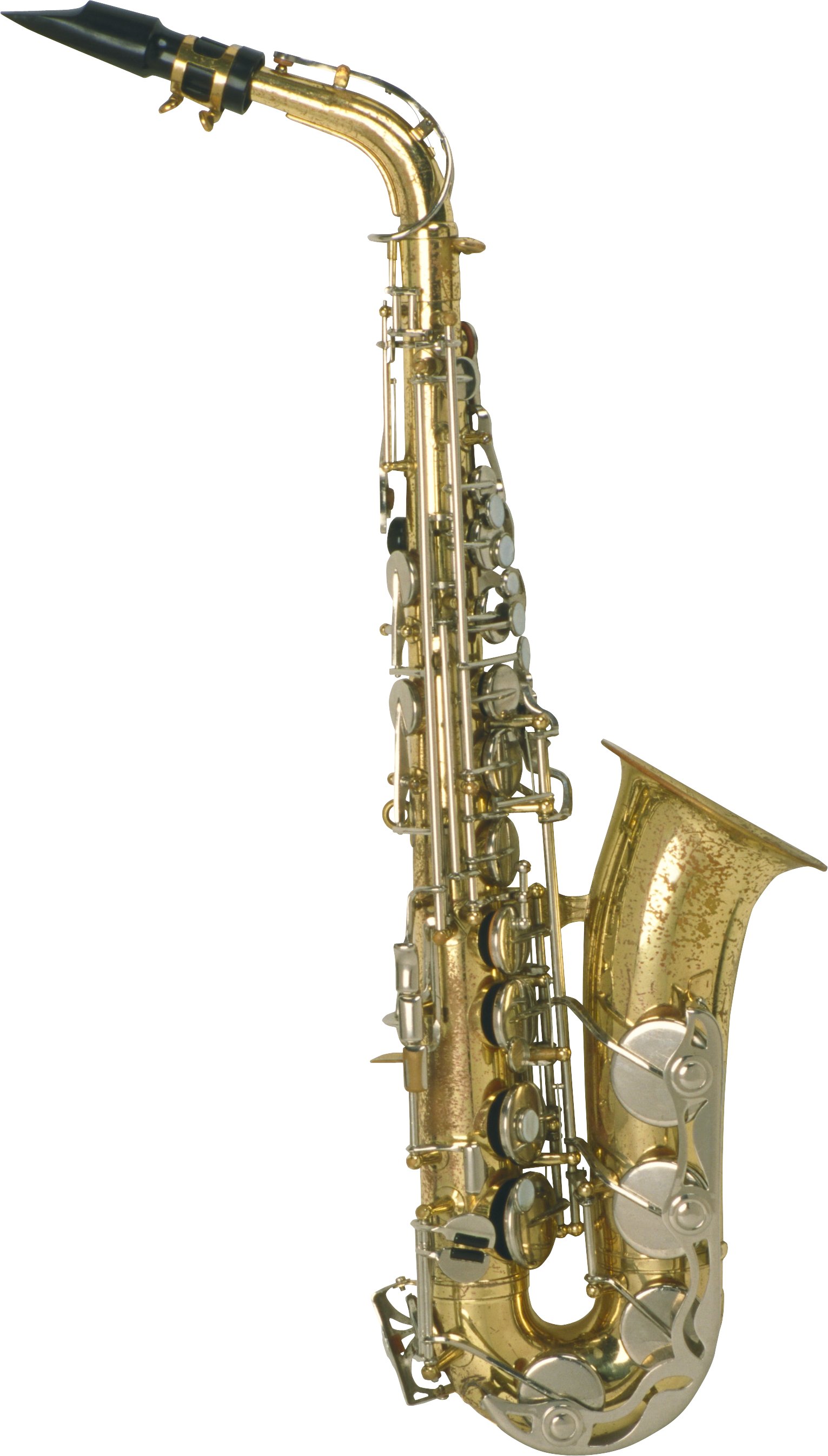 stock Transparent background free on. Gold clipart saxophone