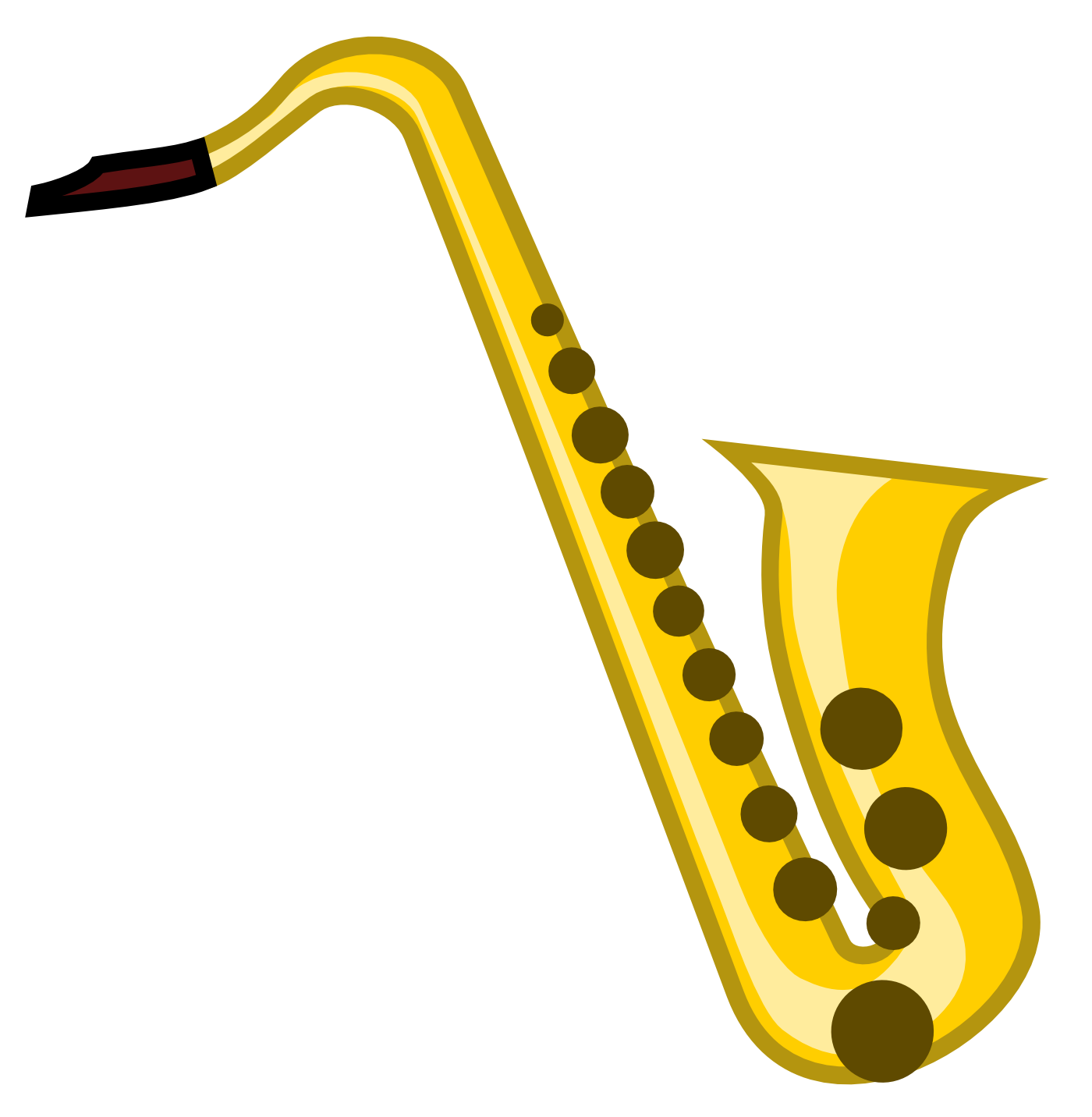 jpg stock Gold clipart saxophone. Unprotected sax the best