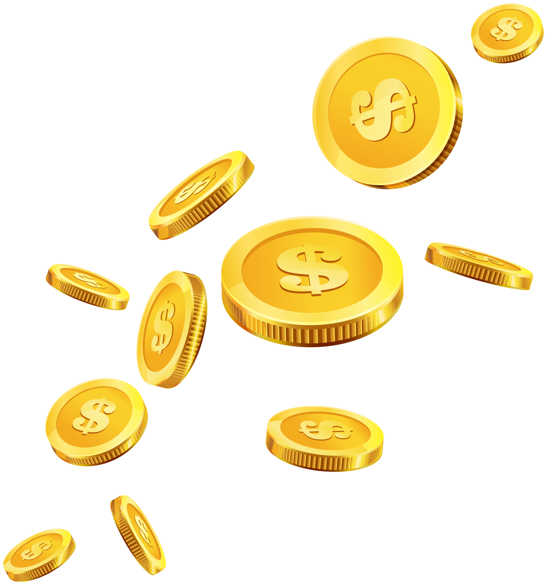 clipart free library Png clip art . Gold coins clipart