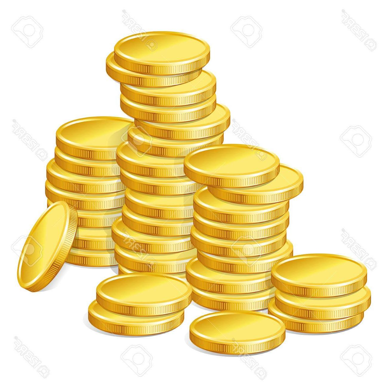jpg free download Best hd stack of. Gold coins clipart