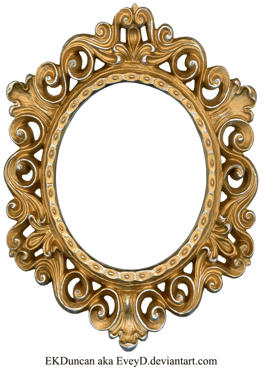 royalty free library Vintage Gold and Silver Frame