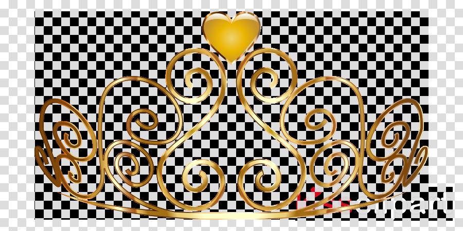 graphic royalty free download Princess crown yellow . Gold tiara clipart.
